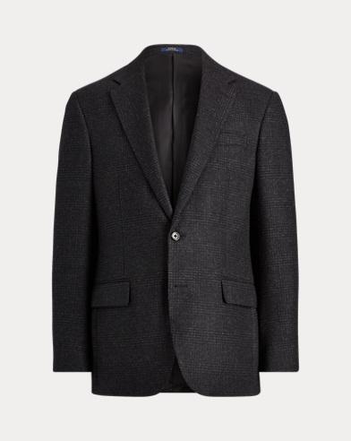 Polo Plaid Twill Suit Jacket