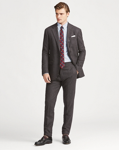 Polo Wool Flannel Suit