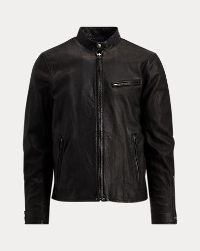 Lambskin Cafe Racer Jacket