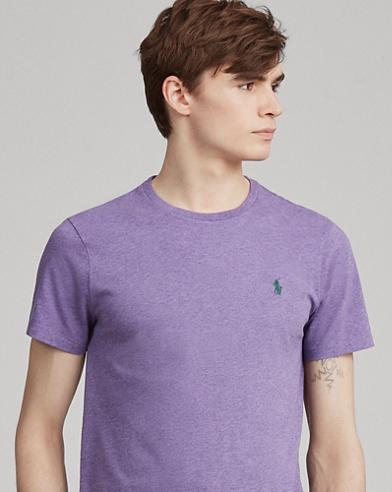 Maglietta in cotone Custom Slim-Fit