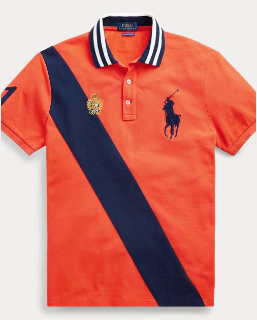 6e7db6c44 Ralph Lauren Custom Slim Fit Mesh Polo at £125