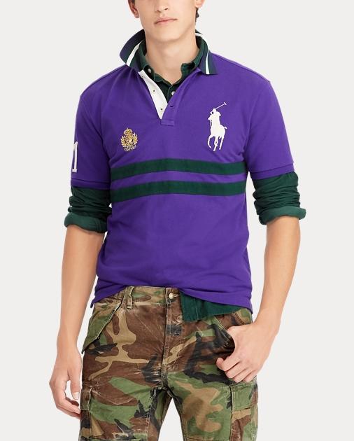 Slim Polo Fit Custom Mesh Custom eCoBdx