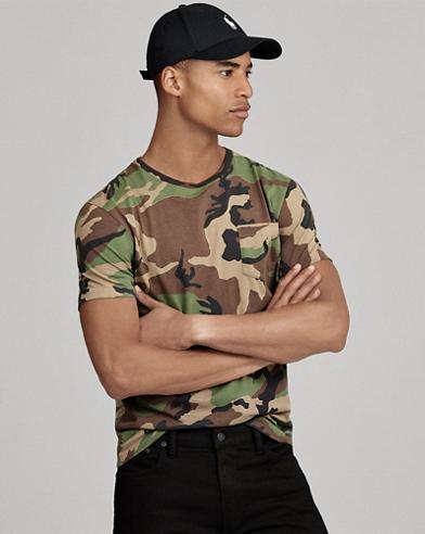 Custom-Fit T-Shirt mit Tasche