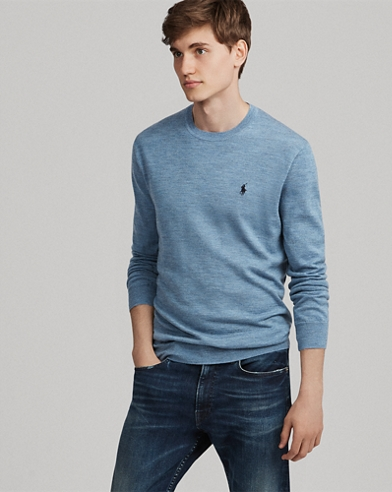 Slim Washable Merino Sweater
