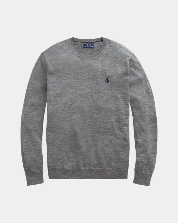 Jersey Slim Fit en lana de merino lavable