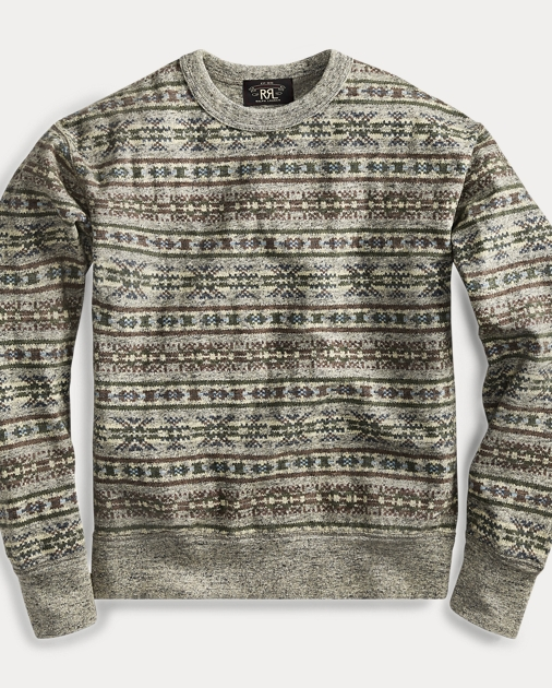 d367421e5e9e Fair Isle Cotton Pullover