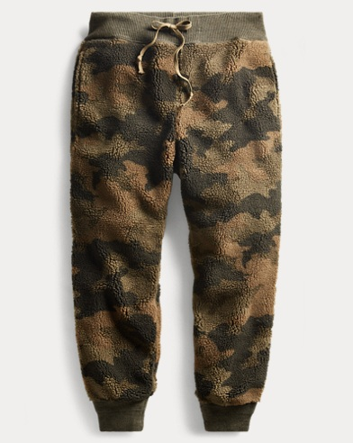 Camo Fleece Sweatpant