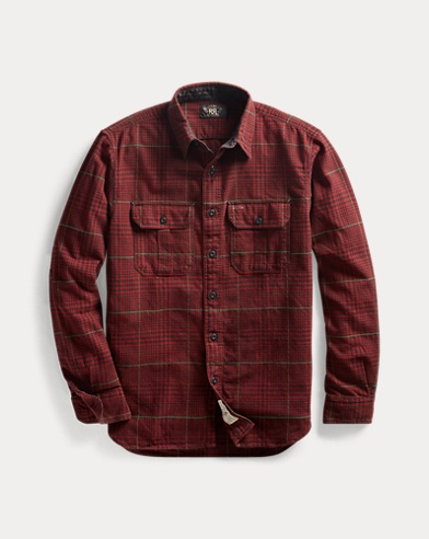 Plaid Dobby Workshirt