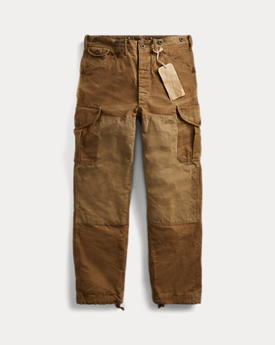 Cotton Canvas Cargo Pant