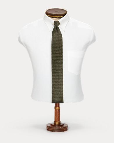 Knit Cashmere Tie