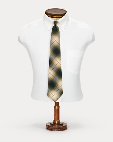 Handmade Ombré Plaid Tie