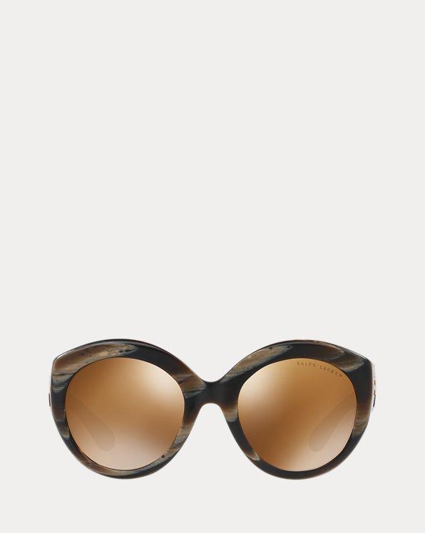 Round Gradient-Lens Sunglasses
