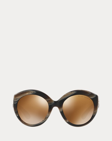 Round Gradient-Lens Sunglasses