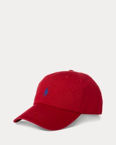 Bestickte Chino-Baseballkappe