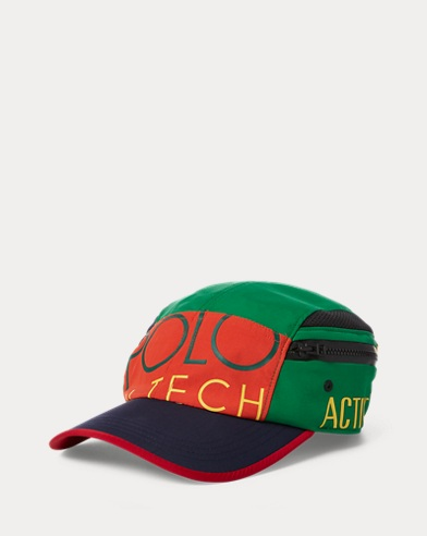 1c13ddcf3 Hi Tech Side-Pocket Cap. Polo Ralph Lauren