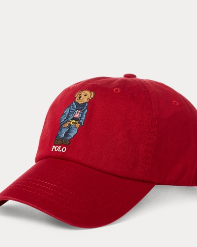 Jean Jacket Polo Bear Cap