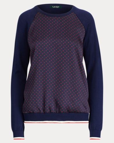 Raglan-Sleeve Pullover