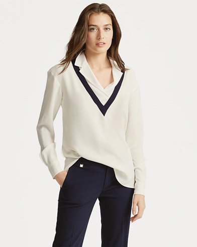 Layered Georgette Top