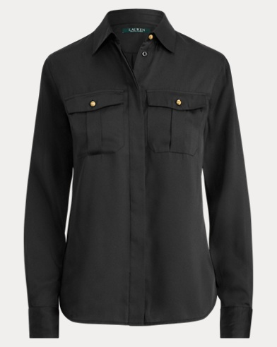 Twill Button-Down Shirt