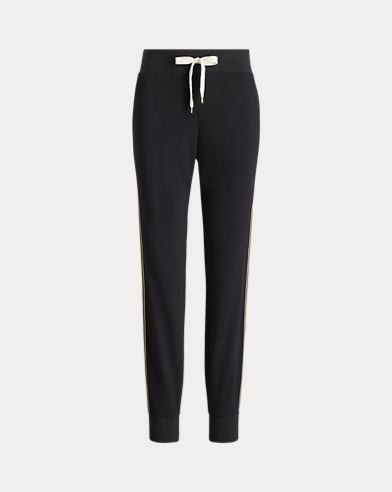 Terry Striped Jogger Pant