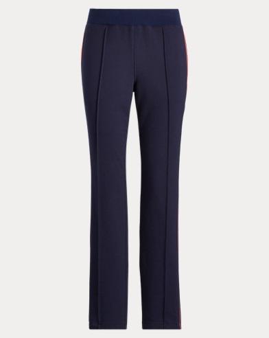 Side-Stripe Cotton-Blend Pant