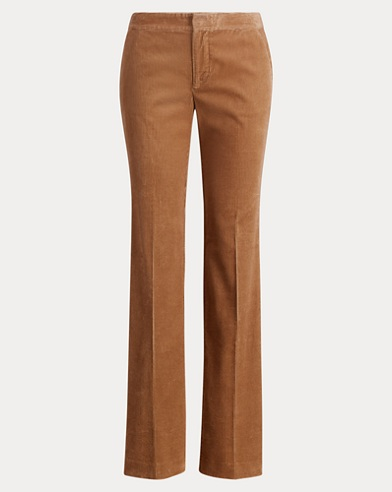 Corduroy Straight-Leg Pant
