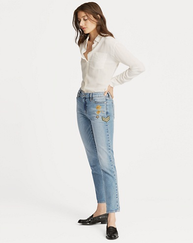 Estate Crop Jean