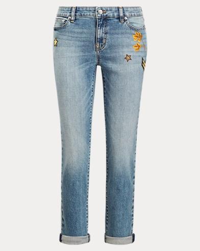 Estate Crop Jean