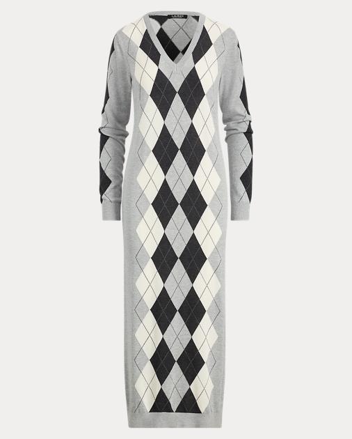 Argyle Dress