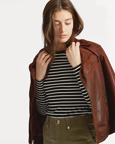 Tumbled Leather Jacket