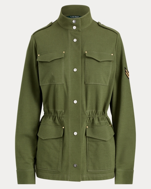 Cotton Military Jacket c32952831fcf