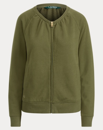 French Terry Mockneck Jacket