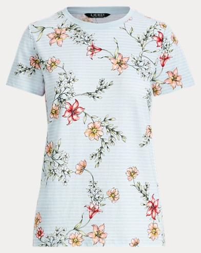 Floral Jersey T-Shirt