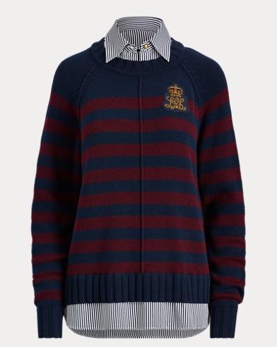 Striped Layered Shirt