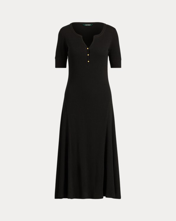 Cotton Fit-and-Flare Dress