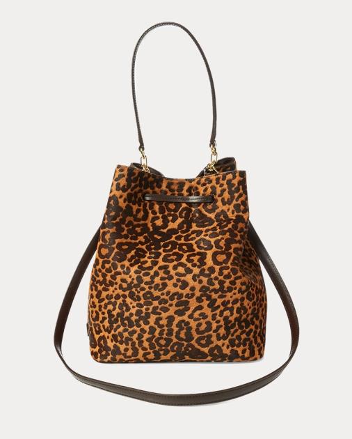 24c4d9b797 Lauren Leopard Debby Drawstring Bag 3
