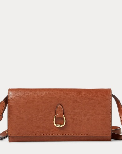 Saffiano Leather Crossbody Bag