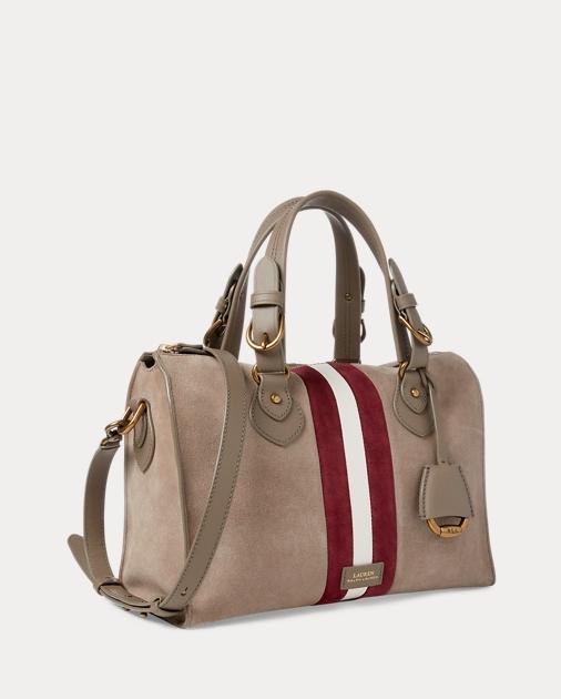 a0504abcdc Suede Duffel Bag