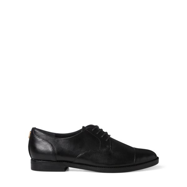 Ralph Lauren Maryna Leather Oxford Black 5.5