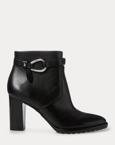 Laletta Leather Bootie