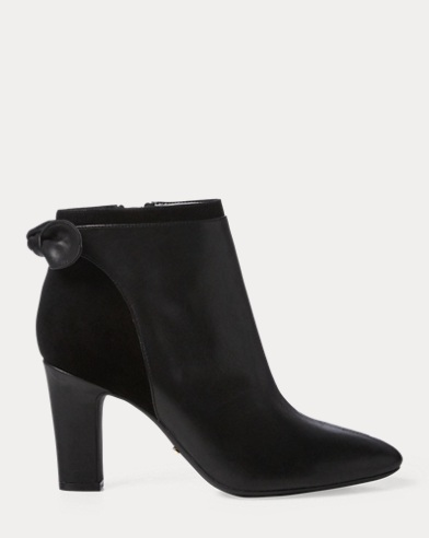 Breanne Leather Bootie