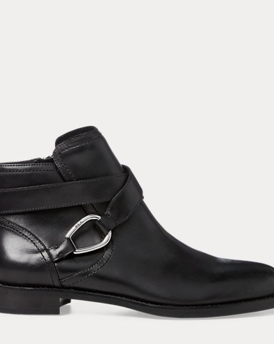 Hermione Leather Bootie