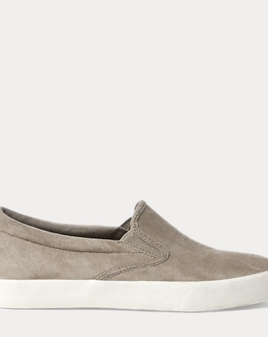 Anchor Suede Slip-On Sneaker