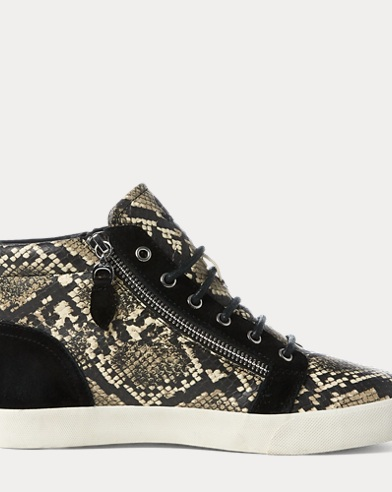 Reace Leather-Suede Sneaker