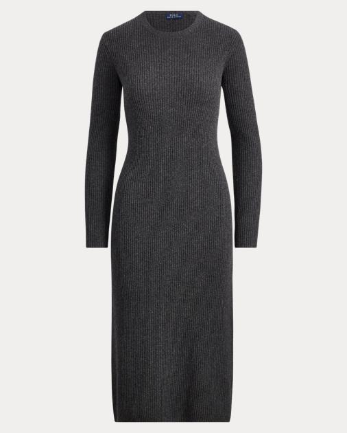 4cfe2065cb Polo Ralph Lauren Abito in maglia di lana e cashmere 2