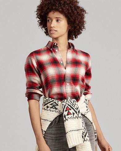 Classic Fit Tartan Twill Shirt