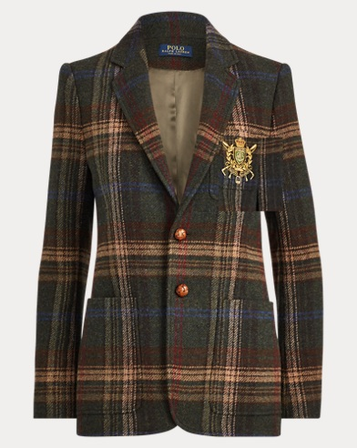Bullion Plaid Blazer