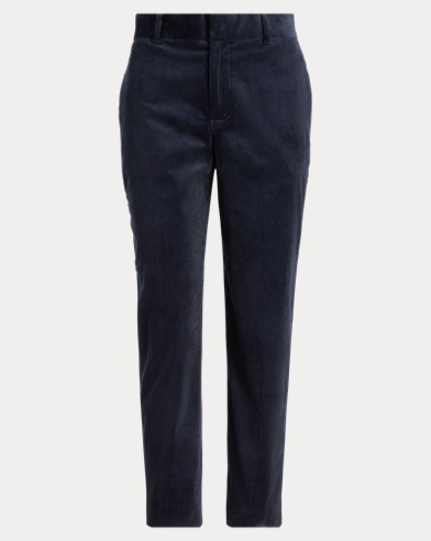 Corduroy Straight Trouser