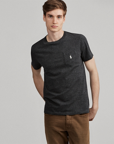 Custom Slim Fit Pocket T-Shirt