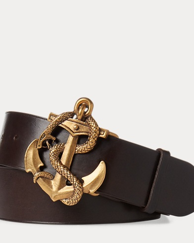 Anchor Leather Belt